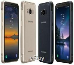 Nouveau Samsung Galaxy S8 Active G892 (dernière) 64gb Sprint + Déverrouillé Ghost LCD