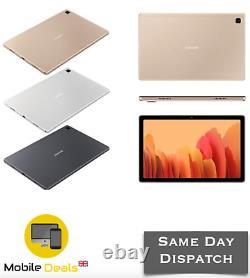 Nouveau Samsung Galaxy Tab A7 10,4 Pouces 2020 3 Go Ram 32 Go Wifi Sm-t500 Toutes Les Couleurs