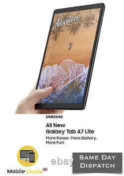 Nouveau Samsung Galaxy Tab A7 Lite 8,7 Pouces 2020 3 Go Ram 32 Go Wifi Sm-t220