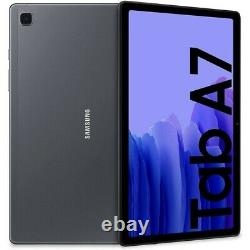 Nouveau Samsung Galaxy Tab A7 Noir 10,4 LCD 32 Go Wifi + 4g Gps Smart Tablet Uk