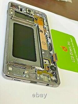 Numériseur D'écran De Remplacement À Écran LCD Oem Samsung Galaxy S10 S10 Plus Avec Cadre (a+)