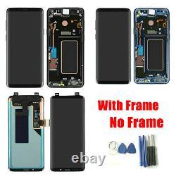 Numériseurs D'écran Tactile D'affichage LCD Originaux Pour Samsung Galaxy S9 Plus Sm-g965f