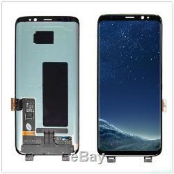Nuovo Display LCD + Écran Tactile Schermo Vetro Pour Samsung Galaxy S8 G950 Nero