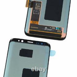 Oled Pour Samsung Galaxy S8 G950f LCD Écran Tactile De Remplacement