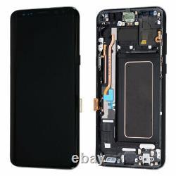 Oled Pour Samsung Galaxy S8 Plus G955f LCD Écran Tactile De Remplacement Noir