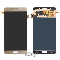 Or Pour Samsung Galaxy Note 5 N920p N920p N920t Digitizer LCD Écran Tactile