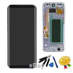 Orchid Gris Écran Tactile Digitizer + Cadre Pour Samsung Galaxy S8 Plus