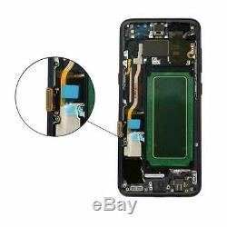 Original Galaxy Samsung S8 Sm-g950 G950f Touch Écran LCD Schwarz Neu