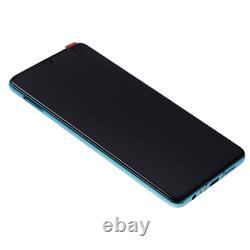 Original Huawei P30 Oled LCD Display + Écran Tactile Bildschirm Aurora Blau Blue