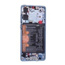 Original Huawei P30 Oled LCD Display + Écran Tactile Bildschirm Breathing Crystal