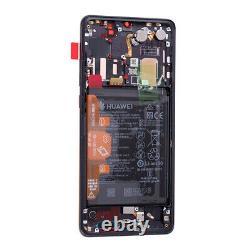 Original Huawei P30 Pro Oled LCD Display Écran Tactile Bildschirm Mit Akku Black