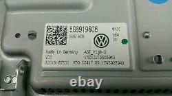 Original Passat B8 3g Facelift Display Bedieneinheit Bildschirm Navi 5g6919606