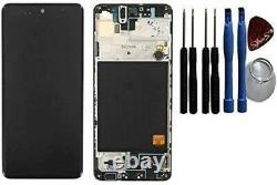 Original Samsung Galaxy A51 A515f Écran LCD Tactile Glas Bildschirm Noir