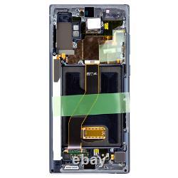 Original Samsung Galaxy Note 10 Plus Sm-n975f LCD Display Écran Tactile Schwarz