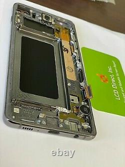 Original Samsung Galaxy S10 G973 LCD Numériseur De Remplacement Avec La Lumière Sbi