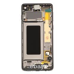 Original Samsung Galaxy S10 Sm-g973f LCD Display Écran Tactile Bildschirm Schwarz