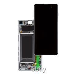Original Samsung Galaxy S10 Sm-g973f LCD Display+touch Screen Bildschirm Weiß
