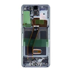 Original Samsung Galaxy S20 G980f G981f LCD Display Écran Tactile Numériseur Grau