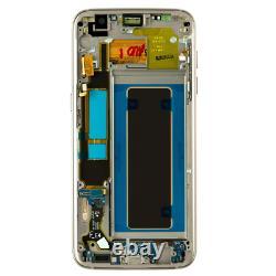Original Samsung Galaxy S7 Edge G935f LCD Display Écran Tactile Bildschirm Gold