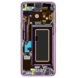 Original Samsung Galaxy S9 Sm-g960f LCD Display Écran Tactile Bildschirm Lila