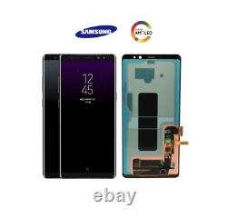 Original Samsung Note 8 N950f Amoled LCD Screen Touch Digitizer Remplacement