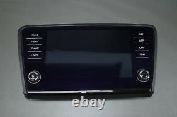 Original Skoda Octavia 3 Amundsen Bedieneinheit LCD Mib Display High 5e0919605n