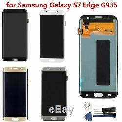 Outil De Numériseur D'écran Tactile D'affichage D'affichage À Cristaux Liquides De Samsung Galaxy S7 Edge G935f / A / V / P / T