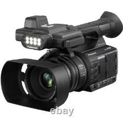 Panasonic Ag-ac30 Full Hd Camcorder Avec Écran LCD Tactile Et Lumière Led Intégrée