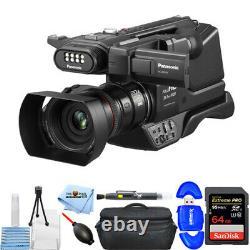 Panasonic Hc-mdh3 Avchd Épaule Camcorder Pal Avec Écran Tactile LCD 64 Go Bundle