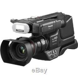 Panasonic Hc-mdh3 Avchd Épaule Caméscope Pal Avec Écran LCD Led Lumière Bundle