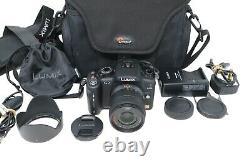 Panasonic Lumix Dmc-g2 Caméra Avec 14-42mm Mirrorless 12.1mp, Obturateur 502 Count