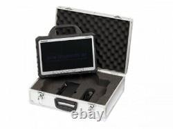 Panasonic Toughbook Cf-d1 Comprimé 13,3 4 Go Ram 250 Go Hdd Win7 A-ware Mit Koffer