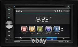 Patron Car Audio Stéréo Bluetooth 6.2 Pouces Écran Tactile Moniteur Acl Caméra Arrière