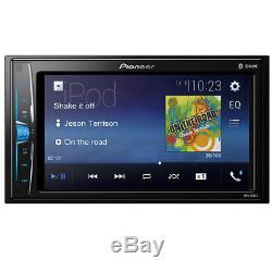 Pioneer Mvh-210ex Lecteur Multimédia Numérique Double 2 Din / Mp3 6.2 LCD Bluetooth