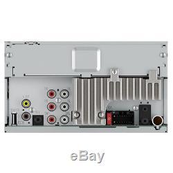Pioneer Mvh-300ex Lecteur Multimédia Numérique Double 2 Din / Mp3 7 LCD Bluetooth