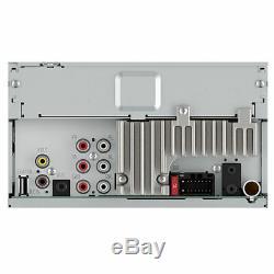 Pioneer Mvh-300ex Lecteur Multimédia Numérique Double 2 Din / Mp3 / Wma 7 LCD Bluetooth Usb