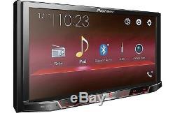 Pioneer Mvh-300ex Lecteur Multimédia Numérique Mp3 / Wma Double 2 Din 7 LCD Bluetooth Nouveau