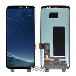 Plein Écran De Numériseur De Verre D'écran Tactile D'affichage D'affichage À Cristaux Liquides En Samsung Galaxy S8 G950