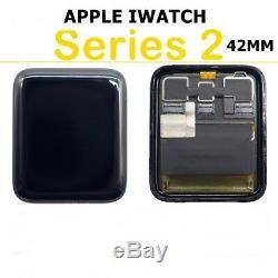 Pour Apple Watch Iwatch Series 2 Numériseur De Verre À Écran Tactile LCD 42mm, Noir