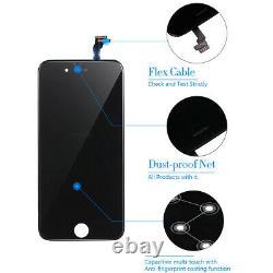 Pour Iphone 6 A1549 A1586 A1589 Black LCD Screen Oem CI Digitizer Remplacement Nouveau