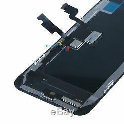 Pour LCD Apple Iphone Xs Max Oled À Écran Tactile D'affichage Digitizer Cadre Noir Royaume-uni