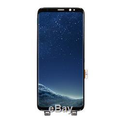 Pour Le Noir De L'assemblée De Convertisseur Analogique-numérique D'écran Tactile D'affichage D'affichage À Cristaux Liquides De Samsung Galaxy S8 Remplacer