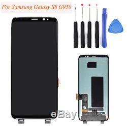 Pour Le Remplacement D'écran De Convertisseur Analogique-numérique D'affichage D'affichage À Cristaux Liquides De Samsung Galaxy S8 G950