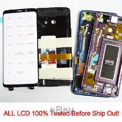 Pour Le Remplacement D'écran Tactile De Numériseur D'affichage D'affichage À Cristaux Liquides De Samsung Galaxy S9 Sm-g960