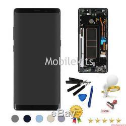 Pour Samsung Galaxy Note 8 N950 LCD Écran Tactile Digitizer + Remplacement Frame