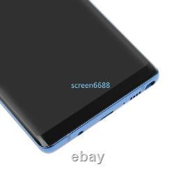 Pour Samsung Galaxy Note 8 N950f Écran LCD Tactile Écran + Cadre De Remplacement Bleu