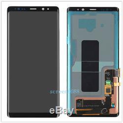 Pour Samsung Galaxy Note 8 N950f N950 LCD Écran Tactile De Remplacement Noir