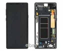 Pour Samsung Galaxy Note 9 N960f LCD Display Touch Screen+frame Replacement Black