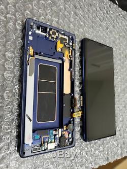 Pour Samsung Galaxy Note 9 Sm-n960f Écran LCD Tactile Digitizer Cadre Ocean Blue