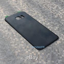 Pour Samsung Galaxy S7 Edge G935f Ecran Tactile Ecran Tactile Digitizer Noir + Couverture